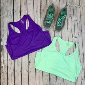 {Old Navy Active} Set of 2 Performance Racerbacks